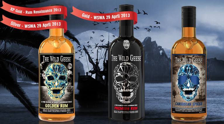 The-Wild-Geese-Rum-Collection-wins-two-Gold-Medals-and-one-Silver-in-a-week-May-2013